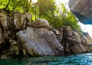 Flusstauchen