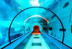 tiefste Indoorpool Europas - Y-40