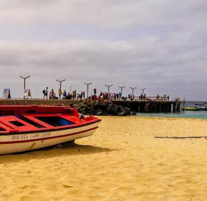 Pier von Santa Maria Kap Verde