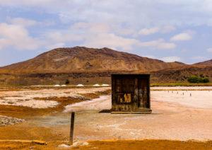 Salzminen Kap Verde